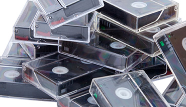Video Productions - Gold Coast - Showbiz Video Productions - MiniDV Cassettes with Cover onto a Lasting DVD Format